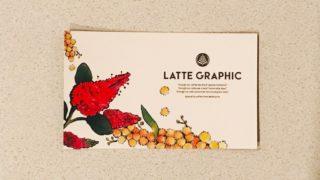 ラテグラフィックのカード